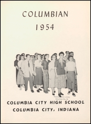 Page 7, 1954 Edition, Columbia City High School - Columbian Yearbook (Columbia City, IN) online yearbook collection