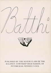 Page 7, 1943 Edition, Baldwin High School - Balthi Yearbook (Pittsburgh, PA) online yearbook collection
