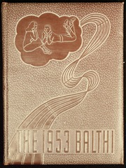 1953 Edition, Baldwin High School - Balthi Yearbook (Pittsburgh, PA)
