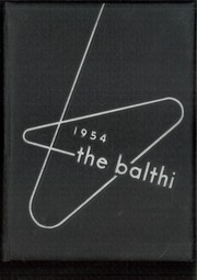 1954 Edition, Baldwin High School - Balthi Yearbook (Pittsburgh, PA)
