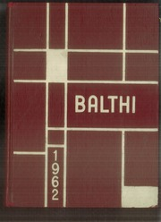 1962 Edition, Baldwin High School - Balthi Yearbook (Pittsburgh, PA)
