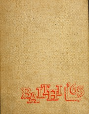 Page 1, 1965 Edition, Baldwin High School - Balthi Yearbook (Pittsburgh, PA) online yearbook collection