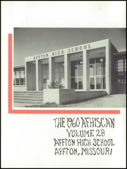 Page 5, 1960 Edition, Affton High School - Afhiscan Yearbook (St Louis, MO) online yearbook collection
