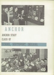 Page 9, 1939 Edition, Southport High School - Anchor Yearbook (Indianapolis, IN) online yearbook collection