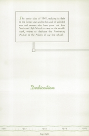 Page 12, 1941 Edition, Southport High School - Anchor Yearbook (Indianapolis, IN) online yearbook collection