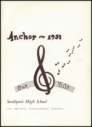 Page 5, 1957 Edition, Southport High School - Anchor Yearbook (Indianapolis, IN) online yearbook collection