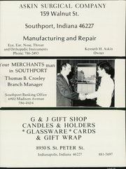 Page 287, 1972 Edition, Southport High School - Anchor Yearbook (Indianapolis, IN) online yearbook collection