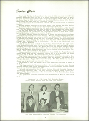 Page 14, 1952 Edition, Hamilton High School - Anchor Yearbook (Hamilton, IN) online yearbook collection