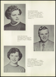 Page 16, 1956 Edition, Hamilton High School - Anchor Yearbook (Hamilton, IN) online yearbook collection