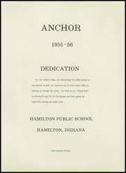 Page 5, 1956 Edition, Hamilton High School - Anchor Yearbook (Hamilton, IN) online yearbook collection