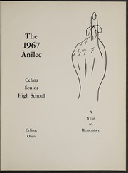 Page 5, 1967 Edition, Celina High School - Anilec Yearbook (Celina, OH) online yearbook collection