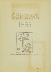 Page 13, 1936 Edition, Arcanum High School - Arcette Yearbook (Arcanum, OH) online yearbook collection