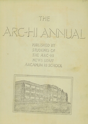 Page 3, 1936 Edition, Arcanum High School - Arcette Yearbook (Arcanum, OH) online yearbook collection