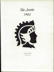 Page 5, 1962 Edition, Arcanum High School - Arcette Yearbook (Arcanum, OH) online yearbook collection