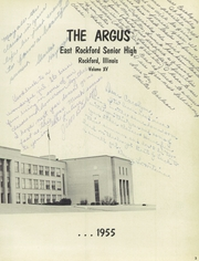 Page 7, 1955 Edition, Rockford East High School - Argus Yearbook (Rockford, IL) online yearbook collection