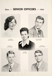 Page 13, 1953 Edition, Grovertown High School - Aries Yearbook (Grovertown, IN) online yearbook collection