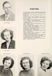 Page 14, 1953 Edition, Grovertown High School - Aries Yearbook (Grovertown, IN) online yearbook collection