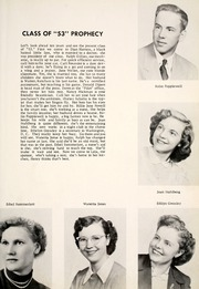 Page 15, 1953 Edition, Grovertown High School - Aries Yearbook (Grovertown, IN) online yearbook collection