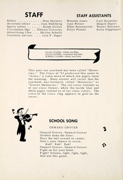 Page 6, 1953 Edition, Grovertown High School - Aries Yearbook (Grovertown, IN) online yearbook collection