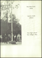 Page 7, 1958 Edition, Bay High School - Small Change Yearbook (Bay Village, OH) online yearbook collection