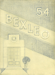 1954 Edition, Bexley High School - Bexleo Yearbook (Bexley, OH)