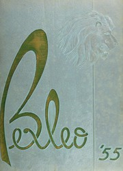 1955 Edition, Bexley High School - Bexleo Yearbook (Bexley, OH)