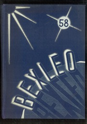 1958 Edition, Bexley High School - Bexleo Yearbook (Bexley, OH)