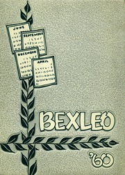 1960 Edition, Bexley High School - Bexleo Yearbook (Bexley, OH)
