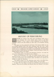 Page 10, 1929 Edition, Perrysburg High School - Black and Gold Yearbook (Perrysburg, OH) online yearbook collection
