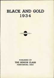 Page 9, 1934 Edition, Perrysburg High School - Black and Gold Yearbook (Perrysburg, OH) online yearbook collection