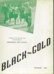 Page 7, 1940 Edition, Perrysburg High School - Black and Gold Yearbook (Perrysburg, OH) online yearbook collection