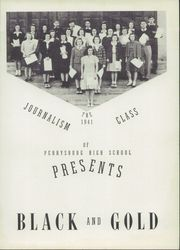 Page 7, 1941 Edition, Perrysburg High School - Black and Gold Yearbook (Perrysburg, OH) online yearbook collection