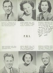 Page 10, 1951 Edition, Perrysburg High School - Black and Gold Yearbook (Perrysburg, OH) online yearbook collection