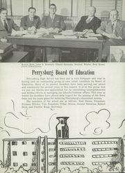 Page 8, 1951 Edition, Perrysburg High School - Black and Gold Yearbook (Perrysburg, OH) online yearbook collection