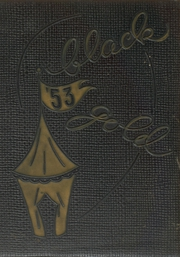 1953 Edition, Perrysburg High School - Black and Gold Yearbook (Perrysburg, OH)