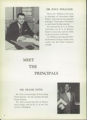 Page 10, 1956 Edition, Perrysburg High School - Black and Gold Yearbook (Perrysburg, OH) online yearbook collection