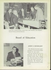 Page 9, 1956 Edition, Perrysburg High School - Black and Gold Yearbook (Perrysburg, OH) online yearbook collection