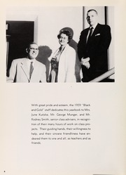 Page 8, 1959 Edition, Perrysburg High School - Black and Gold Yearbook (Perrysburg, OH) online yearbook collection