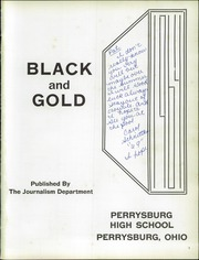 Page 5, 1964 Edition, Perrysburg High School - Black and Gold Yearbook (Perrysburg, OH) online yearbook collection