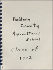 Page 3, 1922 Edition, Foley High School - Blue and Gold Yearbook (Foley, AL) online yearbook collection