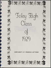 Page 3, 1929 Edition, Foley High School - Blue and Gold Yearbook (Foley, AL) online yearbook collection