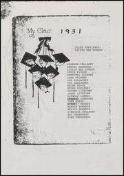 Page 3, 1931 Edition, Foley High School - Blue and Gold Yearbook (Foley, AL) online yearbook collection