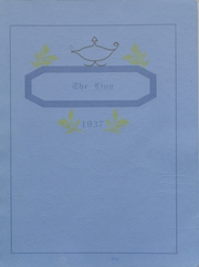 Foley High School - Blue and Gold Yearbook (Foley, AL) online yearbook collection, 1937 Edition, Page 1