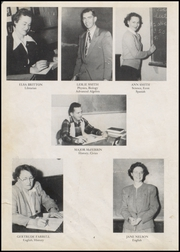 Page 8, 1951 Edition, Foley High School - Blue and Gold Yearbook (Foley, AL) online yearbook collection