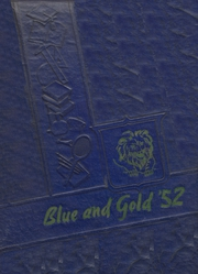 Foley High School - Blue and Gold Yearbook (Foley, AL) online yearbook collection, 1952 Edition, Page 1