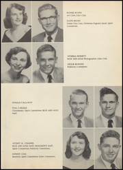 Page 13, 1954 Edition, Foley High School - Blue and Gold Yearbook (Foley, AL) online yearbook collection