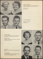 Page 15, 1954 Edition, Foley High School - Blue and Gold Yearbook (Foley, AL) online yearbook collection