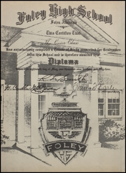 Page 6, 1954 Edition, Foley High School - Blue and Gold Yearbook (Foley, AL) online yearbook collection