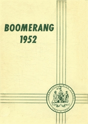 1952 Edition, Surrattsville High School - Boomerang Yearbook (Clinton, MD)
