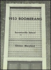 Page 5, 1953 Edition, Surrattsville High School - Boomerang Yearbook (Clinton, MD) online yearbook collection